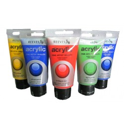 สี REEVES Acrylic 75 ml.