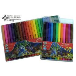 ชุด สีเมจิก / ปากกาสีน้ำ ตรา Steadtler Luna Water Colour Pens Fibre Tip Pens
