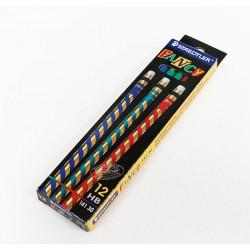 ดินสอไม้ HB ตรา Steadtler (12ด้าม) Fancy
