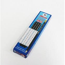 ดินสอไม้ 2B ตรา ม้า (12ด้าม) H-9100 Computer Pencils