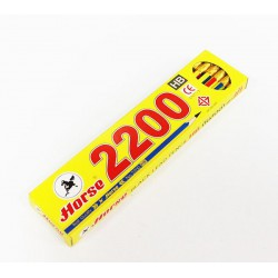 ดินสอไม้ HB ตรา ม้า (12ด้าม) No. 2200
