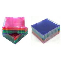กล่องเปล่าใส่แผ่น CD-DVD สลิม
