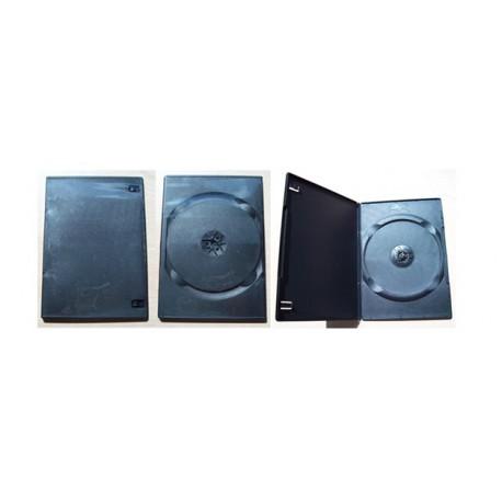 กล่องเปล่าใส่แผ่น DVD เหนียว ดำ