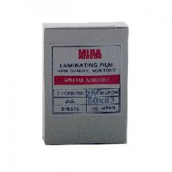 พลาสติกเคลือบบัตร  60x90 cm. หนา 250 Mc.