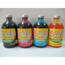 หมึกเติมเครื่องพิมพ์ Smile LexMark 100 ml.