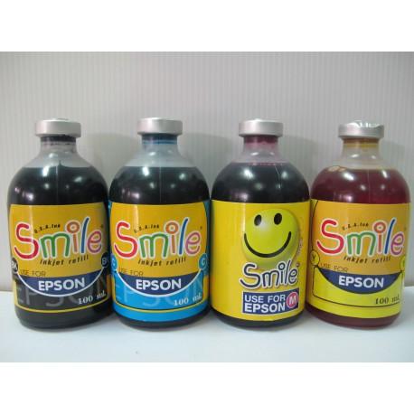 หมึกเติมเครื่องพิมพ์ Smile EPSON 100 ml.