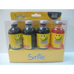 หมึกเติม Smile CANON Refill Kit 4 สี (BK/C/M/Y) 50 ml.