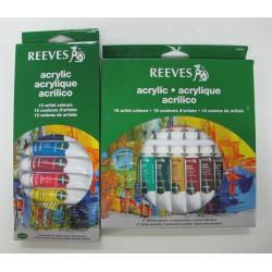 REEVES ชุดสีอะครีลิค 12 สี