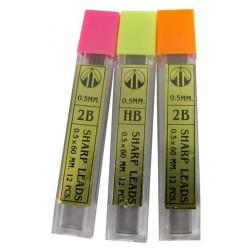 ไส้ดินสอ 0.5 mm. แพ็ค 3 Thai-Tai