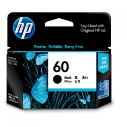 HP  CC640WA (No.60) ดำ