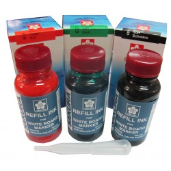 หมึกเติมปากกาไวท์บอร์ด Liquid Whiteboard Marker OBOK