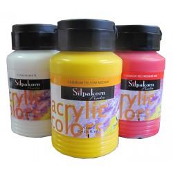 สีอะคริลิค Acrylic colors 250 ml