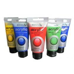 สี REEVES Acrylic 75 ml.