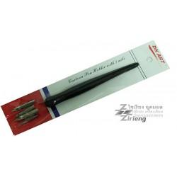 เซ็ต ปากกาหัวแร้ง DK art Cartoon Pen Holder with 5 nibs