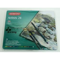 สีไม้ Artist 24 สี ตรา Derwent