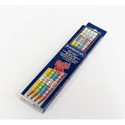ดินสอไม้ HB ตรา Steadtler (12ด้าม) ลายสูตรคูณ