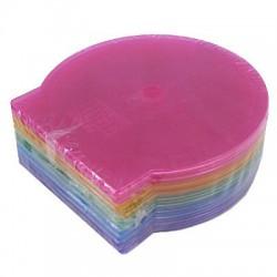 กล่องเปล่าใส่แผ่น CD-DVD หอยเชลล์