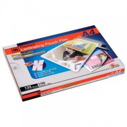 พลาสติกเคลือบบัตร   60x90 cm. หนา 125 Mc.
