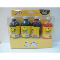 หมึกเติม Smile HP Refill Kit 4 สี (BK/C/M/Y) 50 ml