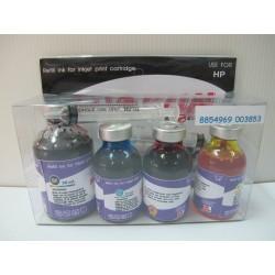 หมึกเติม Shokun HP Refill Kit 4 สี (BK/C/M/Y)